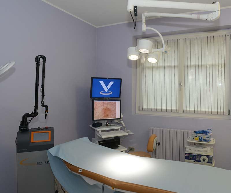 attrezzatura struttura ambulatoria