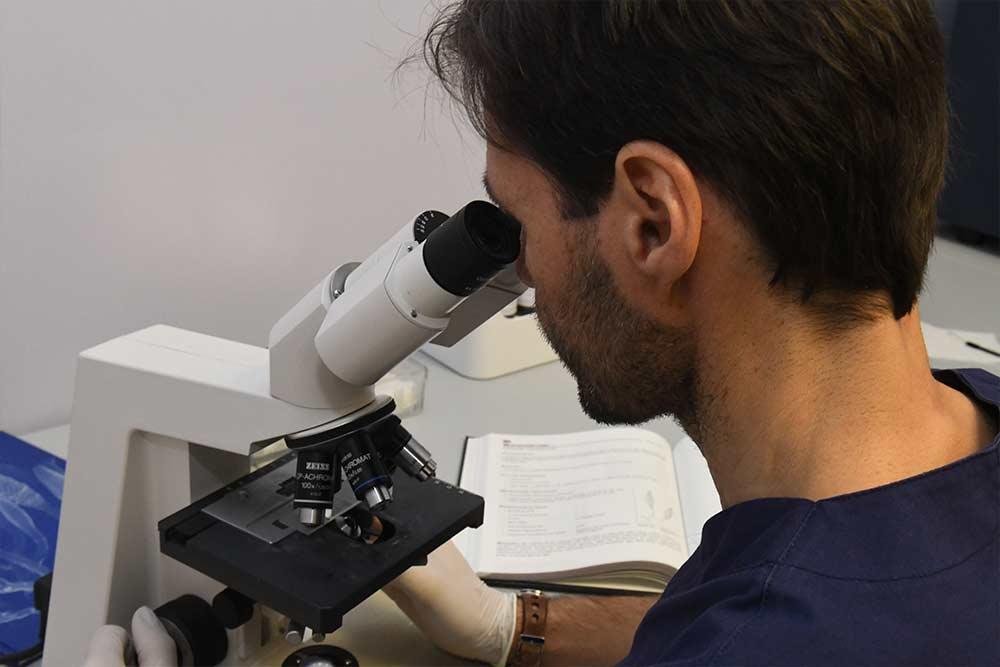 esame microscopico micologico