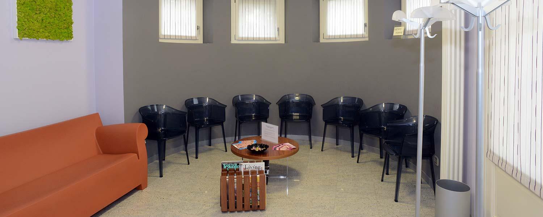 sala attesa studio dermatologico